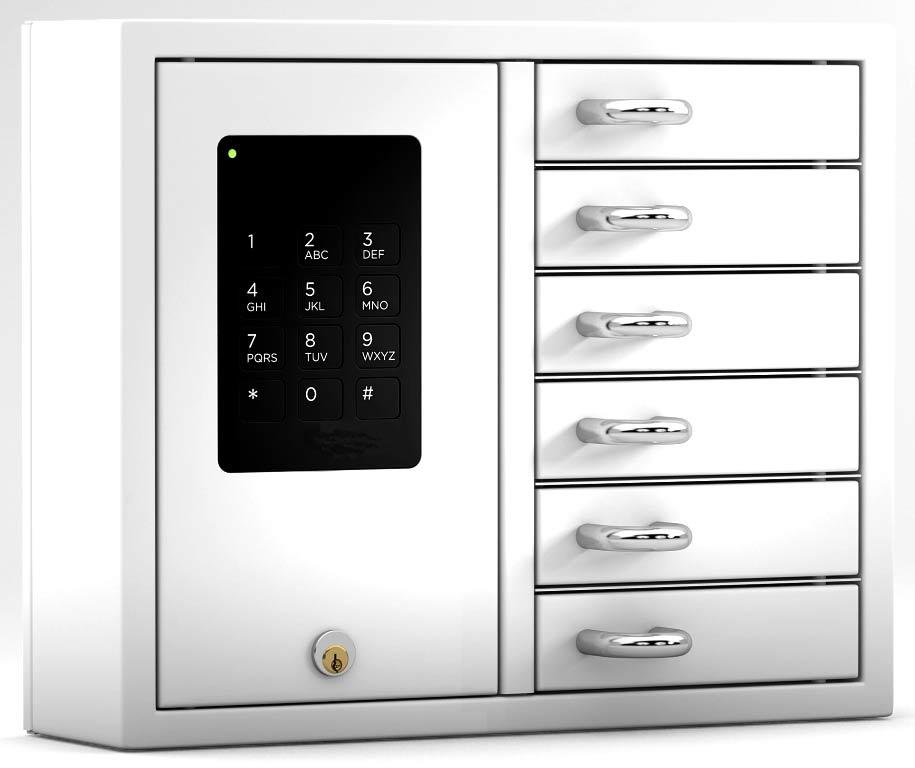 Schlüssel-Ausgabesysteme, Schluesselausgabe-6fach
